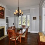 Dining room at 606 N Broad St, West End.