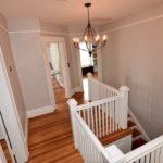 Upstairs hallway in 606 N Broad St, West End.